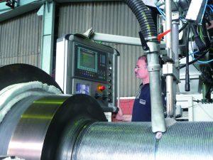 Laser deposition welding of cobalt based alloys for wear resistance at high temperatures