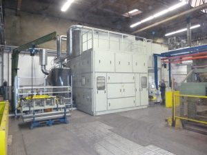 Fully automated welding systems SAW for square beams