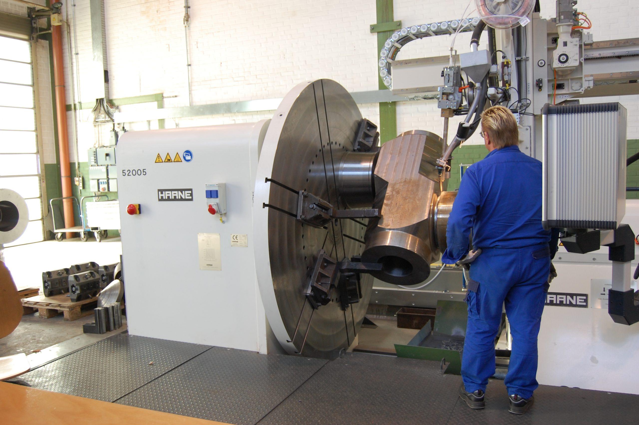 Multi-Mode welding of high-pressure valves