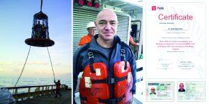 service on board vessels