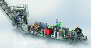 Mobile Spiral mill Assembled