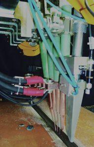 Multi wire SAW welding head
